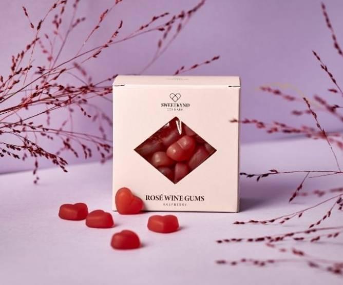 Bilde av Bringebær økologisk rosé vingummi