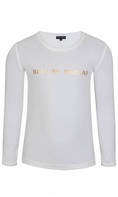 Bilde av Hvit genser med gullskrift