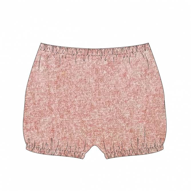 Bilde av Holme shorts frotte  dusty rose